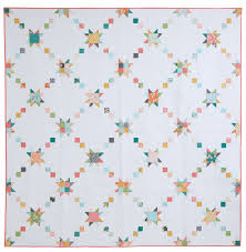 Happy Quilting: Star Crossed - Featured in McCalls Quilting!! & Star Crossed is featured in McCalls Quilting the July/August issue. It is  the perfect big bed size quilt finishing at 96