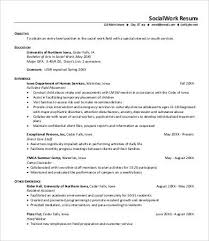 Social Work Resumes Awesome Free Resume Template Social Work Social Work Resume 48 Free Word Pdf