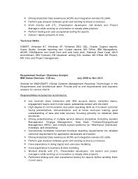 4 - Cognos Report Writer Resume