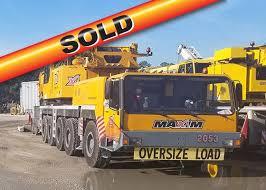 Liebherr Ltm1160 2 2053 Used Crane For Sale Maxim