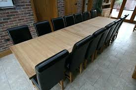 dining table seats 10 brilliant table and solid oak chairs shown below seats or extendable dining