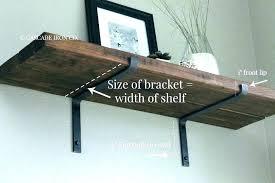 diy floating shelf brackets floating shelves brackets
