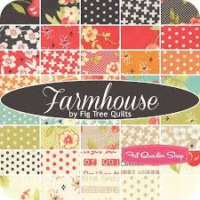 25 best Fabric images on Pinterest | Fat quarters, Star quilts and ... & Farmhouse Yardage<BR>Fig Tree Quilts for Moda Fabrics Adamdwight.com