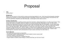 Book Proposal Sample Template Business