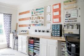 home office craft room ideas. Creative, Thrifty, \u0026 Small Space Craft Room Organization Ideas | The Happy Housie Home Office R