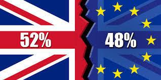 Image result for 2016 result 52% 48%