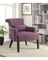purple accent furniture. Furniture Of America Venize Contemporary Style Accent Chair, Purple O