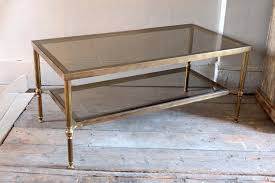 Empire Coffee Table Walnut West Antique And Modern Furnishings Baker Brass Italian