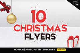 Christmas Brochure Templates Free Holiday Party Flyer