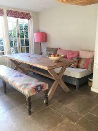 Kitchen With Unique Kilim Bench Project Den Haag By La Vie Boh Me