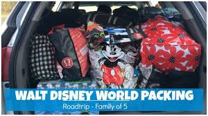 walt disney world vacation ng roadtrip nj to fl family of 5