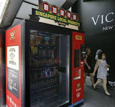 Coffee Vending Machine Rental Singapore Amazing Get Your Local Food Fix From A Packet Home Decor Singapore