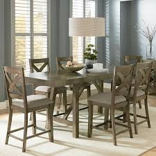 counter height  piece table set with bar stools by standard