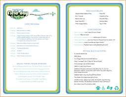 Event Program Template Printable Event Program Template calendar month printable 1