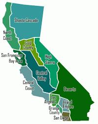 California Regions Map Of Californias Regions Southern California Map