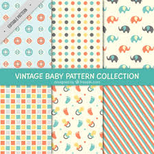 Baby Patterns Adorable Pretty And Decorative Baby Patterns Vector Free Download