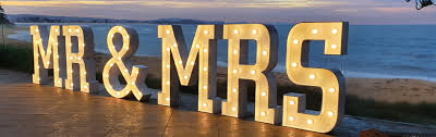 Mr And Mrs Light Up Sign Hire 21 Light Up Sign Hire Create Magical Moments With Letter Up