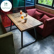 Industrial style furniture Cheap Louis Fashion Cafe Tables American Solid Wood Industrial Style Furniture Old And Simple Desk Iron Art Ancient Coffee Hayneedle Louis Fashion Cafe Tables American Solid Wood Industrial Style