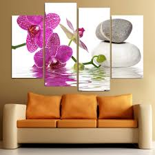 Painting Canvas For Living Room Spa Wall Art Promotion Shop For Promotional Spa Wall Art On
