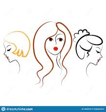 Long Tresse Les Cheveux Bruns Créatifs Disolement Sur Le