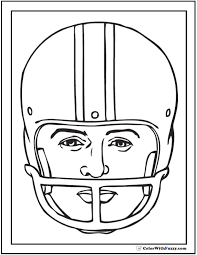 Small Picture Football Coloring Pages Helmets Coloring Pages