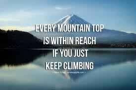 Quotes About Climbing Mesmerizing Quotes About Climbing Mountain 48 Quotes 48 QuotesNew