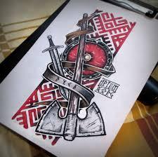 славянские тату славянские татуировки идеи для татуировок тату