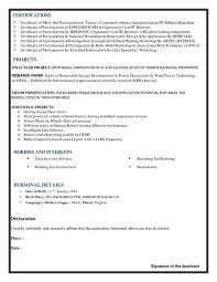 Power Plant Mechanical Engineer Resumes What Is The Best Resume For Mechanical Engineer Fresher Quora