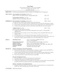 Sample Resume Science Graduate Resume For College Student Download