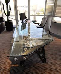 Image Modern Motoart Aviation Furniture Pretty Cool Office Desk For Dad Wwwbocadolobocom luxuryfurniture designfurniture Pinterest 35 Cool Desk Designs For Your Home Industrial Chic Furniture