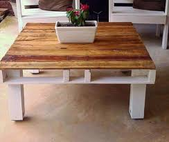 diy pallet coffee table design and ideas