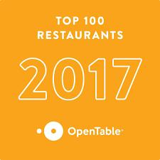 opentable names the best u s restaurants of 2017
