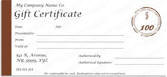 Gift Certificate Template Microsoft Word Simple One Note Gift Certificate Template At Get Certificate Templates