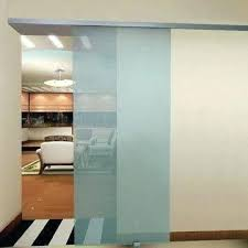 frameless glass doors sliding door system with soft self closing soft self stopping mechanism for frameless