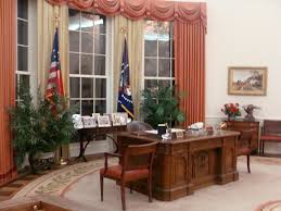 ronald reagan oval office. Oval Office - Ronald Reagan Presidential Library, Simi Valley, California   By Cartoonist2006 T