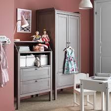 kids storage with sundvik wardrobe and chest of drawers in grey brown sundvik