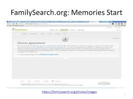 My Familysearch Org Tutorial Dr Brand Niemann Director And