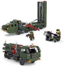 """<b>Конструктор KAZI</b> """"<b>Ракетные войска</b>"""" - 84037 (KY84037) купить за ..."""