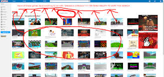 Make Roblox Roblox Really Needs To Make The Game Search Page Better Roblox