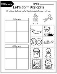 Here, you will find free phonics worksheets to assist in learning phonics rules for reading. Consonant Digraphs Worksheets Sh Ch Th Wh Ph Kn Wr Qu Sorting Activity