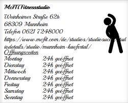 adresse Öffnungszeiten von mcfit fitnessstudio