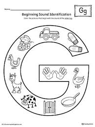 Our free phonics worksheets are colors, simple, and let kids understand phonics in a natural way through fun bingobonic phonics has the best free phonics worksheets for esl/efl kids! Letter G Beginning Sound Color Pictures Worksheet Beginning Sounds Letter G Beginning Sounds Worksheets