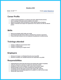 Beautiful Financial Service Representative Resume Objective Images