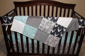 boy crib bedding navy buck gray arrow and aqua herringbone baby fullxfull cribs cradle cot sets