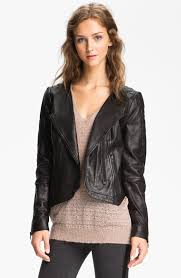 Trouvé Black Quilted Panel Leather Moto Jacket ( Size XS)   eBay & Jacket was a floor display for High - End Department Store, however it's in  perfect condition, no evidence of wear noticed Adamdwight.com