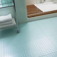 bathroom light blue mosaic tiles flooring for bathroom with movable bath shelving units for saving