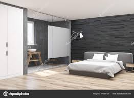 Schlafzimmer Gestalten Graues Bett