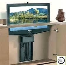end of bed lift cabinets for flat screens motorized diy tv how to build a cabinet