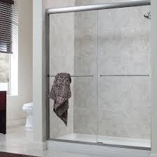 bypass shower door. Frameless Bypass Shower Door