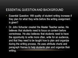 essay writing skills methods of teaching
